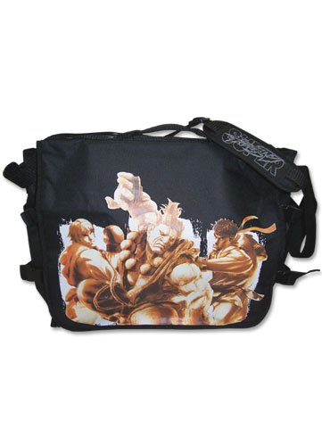 Super Street Fighter Iv Ken,Akuma, & Ryu Messenger Bag, an officially licensed product in our Super Street Fighter Bags department.