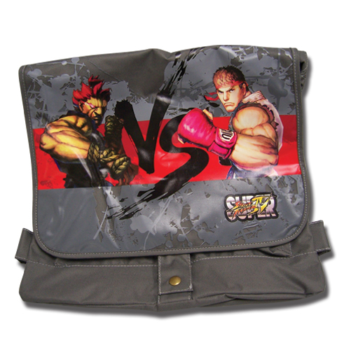 Super Street Fighter Iv Akuma Vs Ryu Messenger Bag, an officially licensed product in our Super Street Fighter Bags department.