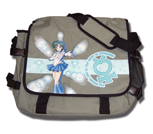 Sailormoon Sailor Mercury Messenger Bag, an officially licensed product in our Sailor Moon Bags department.