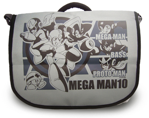 Megaman 10 Mega Man Messenger Bag, an officially licensed product in our Mega Man Bags department.