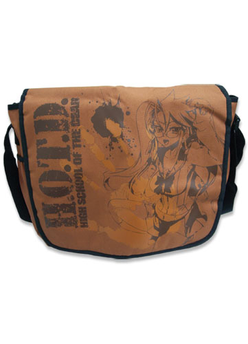 High School Of The Dead Saya Messenger Bag, an officially licensed product in our Everything Else Bags department.