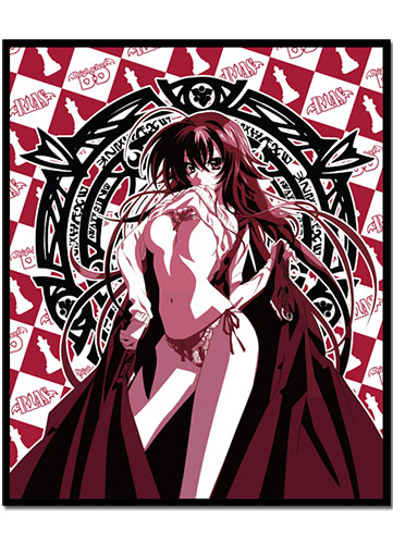 High School Dxd - Rias Throw Blanket, an officially licensed product in our High School Dxd Blankets & Linen department.