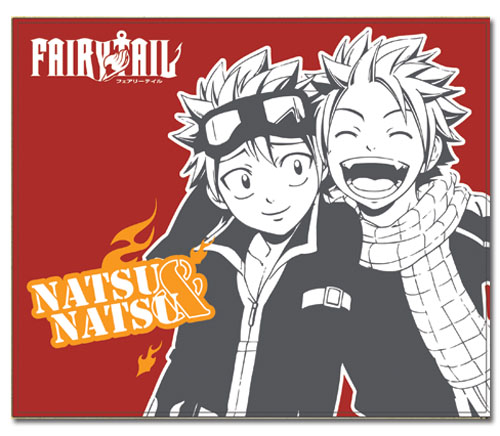 Fairy Tail S3 Natsu & Natsu Throw Blanket, an officially licensed product in our Fairy Tail Blankets & Linen department.