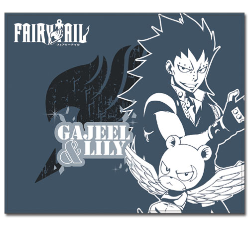 Fairy Tail S4 Gajeel & Lily Throw Blanket, an officially licensed product in our Fairy Tail Blankets & Linen department.