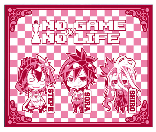 No Game No Life - Shiro, Sora And Steph Throw Blanket, an officially licensed product in our No Game No Life Blankets & Linen department.