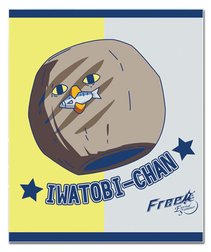 Free! 2 - Iwatobi & Mackerel Throw Blanket officially licensed Free! Blankets & Linen product at B.A. Toys.