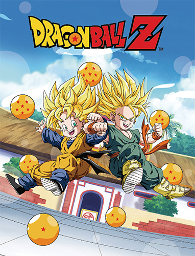 Dragon Ball Z - Trunks & Goten Sublimation Throw Blanket, an officially licensed product in our Dragon Ball Z Blankets & Linen department.