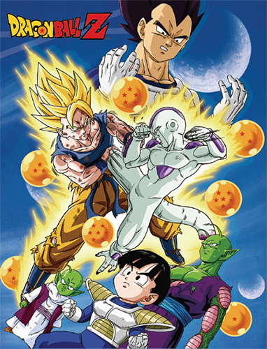 Dragon Ball Z - Group With Sky Sublimation Throw Blanket, an officially licensed product in our Dragon Ball Z Blankets & Linen department.