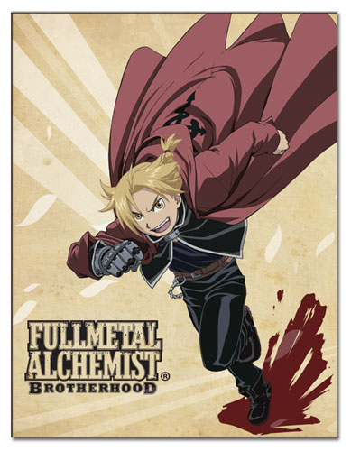 Fullmetal Alchemist Brotherhood - Ed Sublimation Throw Blanket, an officially licensed product in our Fullmetal Alchemist Blankets & Linen department.