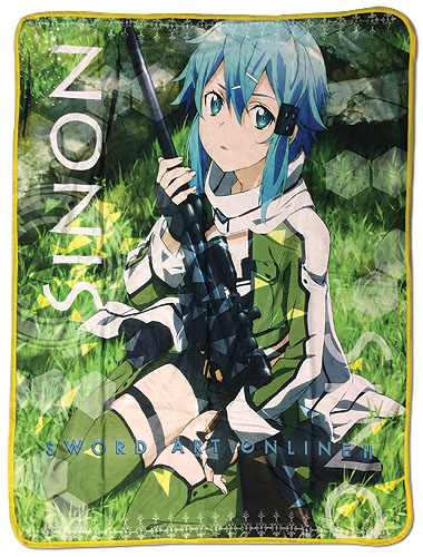 Sword Art Online 2 - Sinon Sublimation Throw Blanket, an officially licensed product in our Sword Art Online Blankets & Linen department.