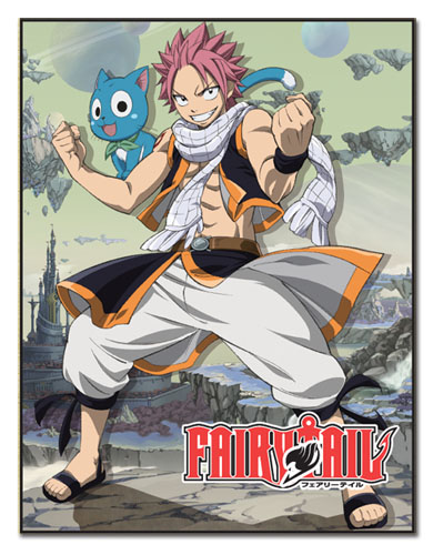 Fairy Tail - Natsu & Happy Sublimation Throw Blanket, an officially licensed product in our Fairy Tail Blankets & Linen department.