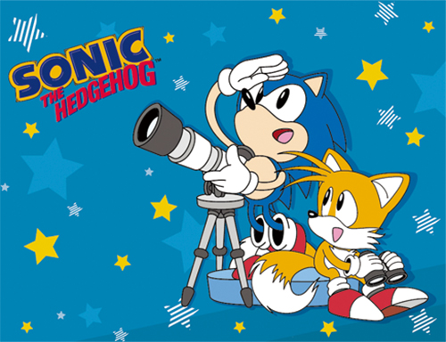 Sonic The Hedgehog - Sonic & Tails Sublimation Throw Blanket officially licensed Sonic Blankets & Linen product at B.A. Toys.