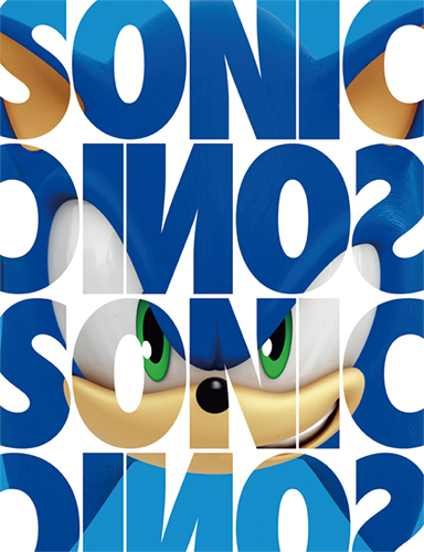 Sonic The Hedgehog - Sonic Name Sublimation Throw Blanket officially licensed Sonic Blankets & Linen product at B.A. Toys.
