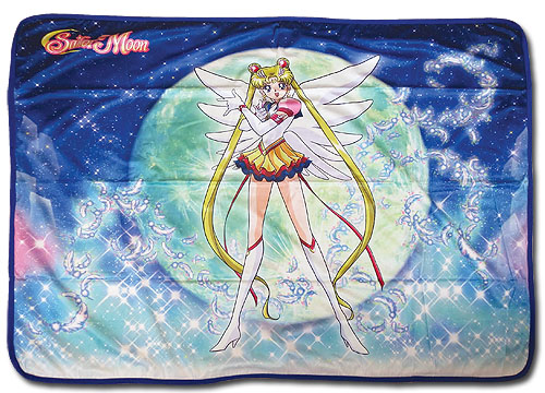 Sailor Moon Stars - Eternal Sailor Moon Sublimation Throw Blanket, an officially licensed product in our Sailor Moon Blankets & Linen department.
