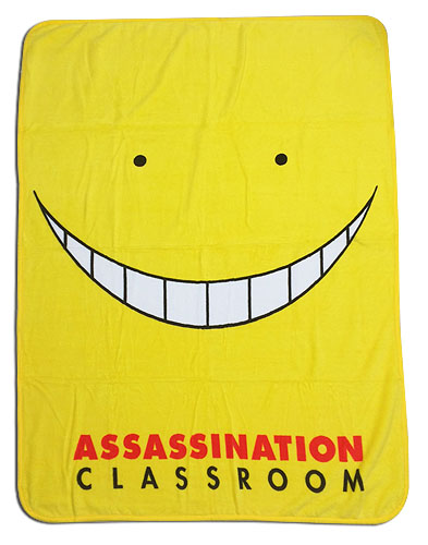 Assassination Classroom - Koro Throw Blanket, an officially licensed product in our Assassination Classroom Blankets & Linen department.