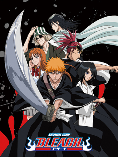 Bleach - Group Sublimation Throw Blanket officially licensed Bleach Blankets & Linen product at B.A. Toys.