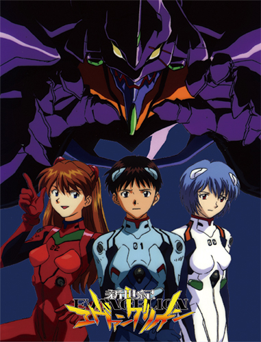 Evangelion - Group Sublimation Throw Blanket officially licensed Evangelion Blankets & Linen product at B.A. Toys.