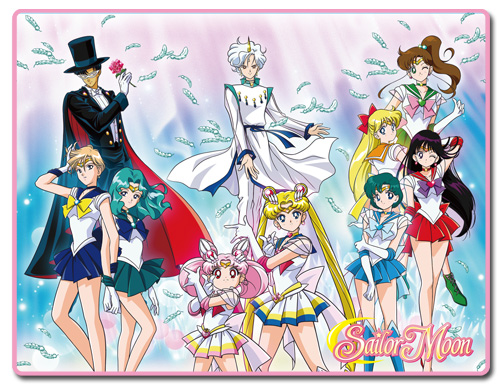 Sailor Moon Super S - Group Sublimation Throw Blanket, an officially licensed product in our Sailor Moon Blankets & Linen department.