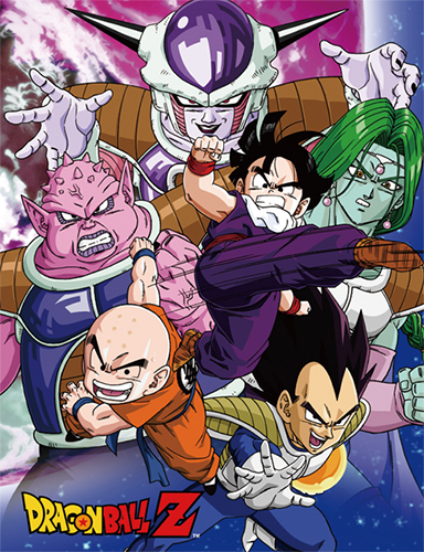 Dragon Ball Z - Group 4 Sublimation Throw Blanket, an officially licensed product in our Dragon Ball Z Blankets & Linen department.