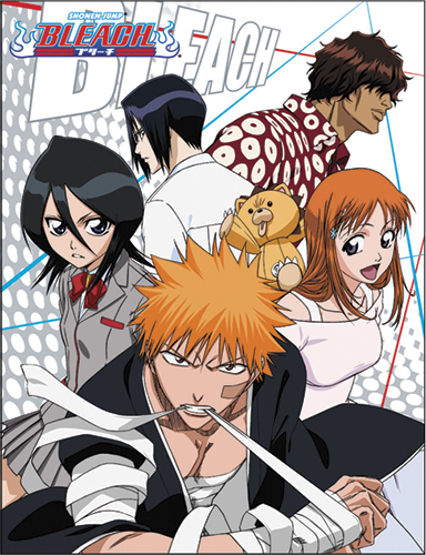 Bleach - Group 2 Sublimation Throw Blanket officially licensed Bleach Blankets & Linen product at B.A. Toys.