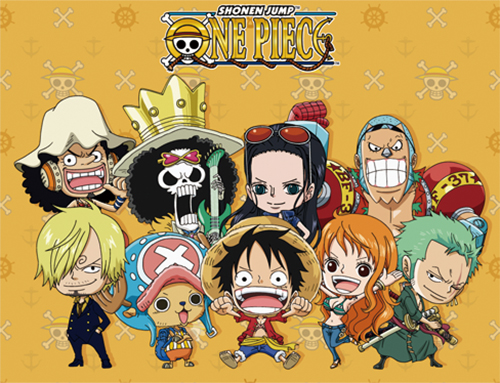 One Piece - Sd Group Sublimation Throw Blanket officially licensed One Piece Blankets & Linen product at B.A. Toys.