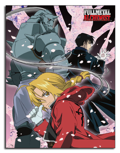 Fullmetal Alchemist - Group Sublimation Throw Blanket, an officially licensed product in our Fullmetal Alchemist Blankets & Linen department.