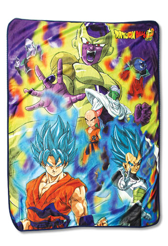 Dragon Ball Super - Group 03 Sublimation Throw Blanket, an officially licensed product in our Dragon Ball Super Blankets & Linen department.