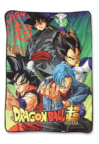 Dragon Ball Z - Group 5 Sublimated Throw Blanket, an officially licensed product in our Dragon Ball Z Blankets & Linen department.