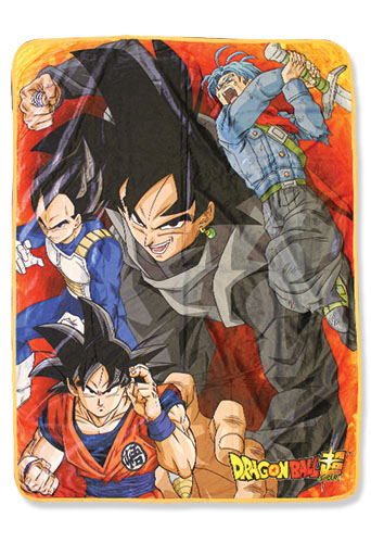 Dragon Ball Super - Group 07 Sublimation Throw Blanket, an officially licensed product in our Dragon Ball Super Blankets & Linen department.