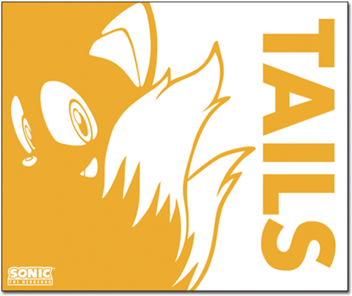 Sonic The Hedgehog - Tails Throw Blanket officially licensed Sonic Blankets & Linen product at B.A. Toys.