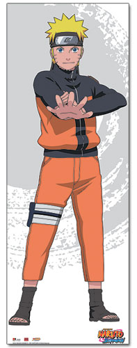 Naruto Shippuden Naruto Over Size Wall Scroll, an officially licensed product in our Naruto Shippuden Wall Scroll Posters department.