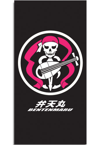 Bodacious Space Pirates Bentenmaru Towel officially licensed product at B.A. Toys.