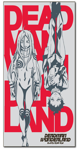 Deadman Wonderland Ganta & Shiro Towel, an officially licensed Deadman Wonderland Towels