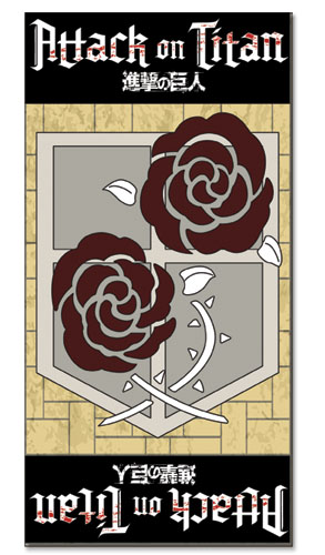 Attack On Titan - Garrison Regiment Towel, an officially licensed Attack On Titan product at B.A. Toys.