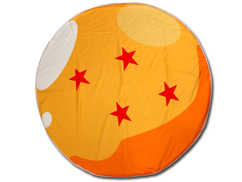 Dragon Ball Z - Dragon Ball #4 Round Towel, an officially licensed product in our Dragon Ball Z Towels department.