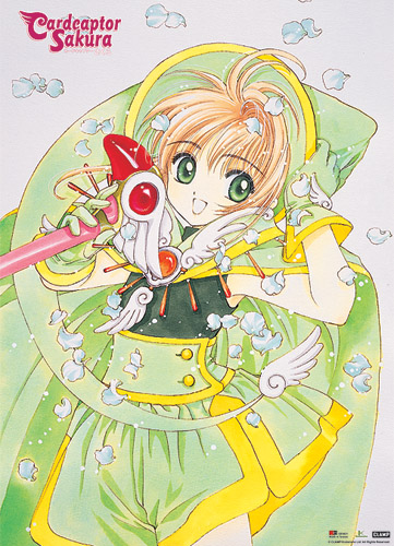 Cardcapter Sakura - Cardcapter Sakura Wallscroll, an officially licensed Cardcapter product at B.A. Toys.