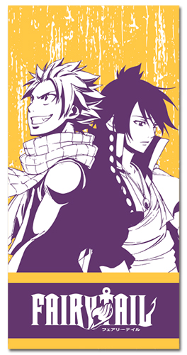 Fairy Tail - Natsu & Zeref Towel, an officially licensed product in our Fairy Tail Towels department.