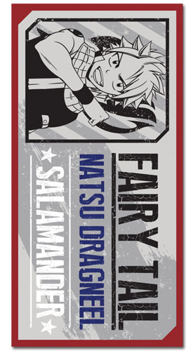 Fairy Tail - Natsu Towel, an officially licensed product in our Fairy Tail Towels department.