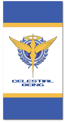 Gundam 00 - Celestial Being Towel, an officially licensed product in our Gundam 00 Towels department.