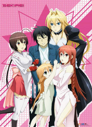 Sekirei Group Wall Scroll, an officially licensed product in our Sekirei Wall Scroll Posters department.
