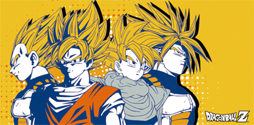 Dragon Ball Z - Group Towel officially licensed Dragon Ball Z Towels product at B.A. Toys.