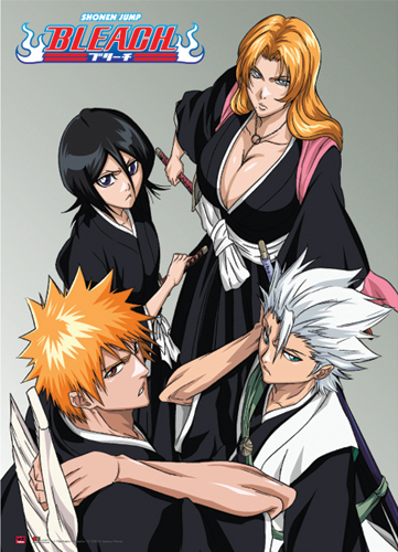 Bleach Group Wallscroll, an officially licensed product in our Bleach Wall Scroll Posters department.