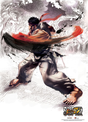 Super Street Fighter Iv Ryu Wallscroll, an officially licensed product in our Super Street Fighter Wall Scroll Posters department.
