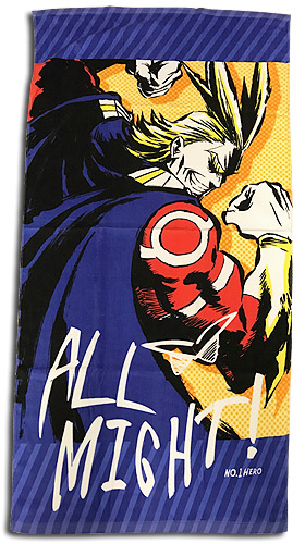 My Hero Academia - All Might Towel, an officially licensed product in our My Hero Academia Towels department.