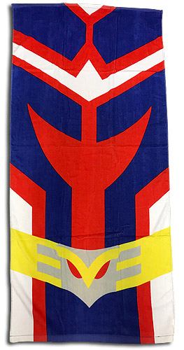 My Hero Academia - All Might Uniform Towel, an officially licensed product in our My Hero Academia Towels department.