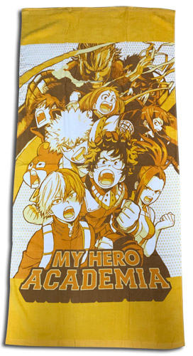 My Hero Academia - Class Big Group Towel, an officially licensed product in our My Hero Academia Towels department.