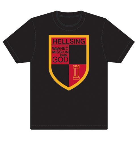 Hellsing Ulimate Hellsing Organization Emblem T-Shirt L, an officially licensed product in our Hellsing T-Shirts department.