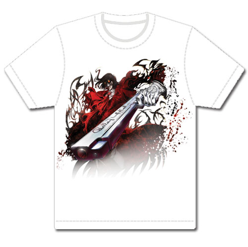 Hellsing Ultimate - Alucard Mens T-Shirt L, an officially licensed product in our Hellsing T-Shirts department.
