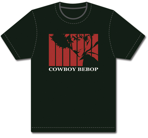 Cowboy Bebop Opening Spike T-Shirt L, an officially licensed Cowboy Bebop product at B.A. Toys.