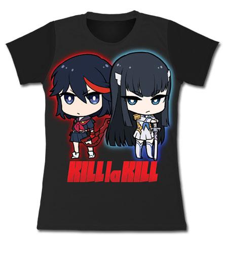 Kill La Kill - Sd Ryuko & Satsuki Jrs. T-Shirt L, an officially licensed product in our Kill La Kill T-Shirts department.